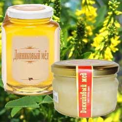 Какого цвета мёд из донника